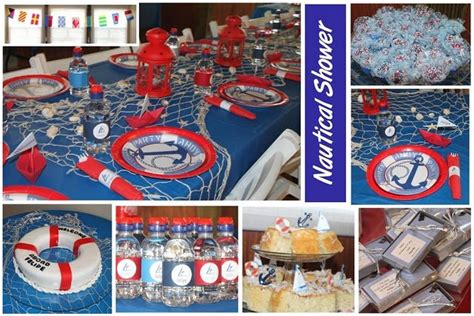 Nautical Baby Shower Decorations For Home: Chez Soiree Wedding & Event Planning®: Nautical Baby