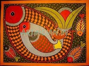 Madhubani Paintings - Folk Art of India - An Amazing ...