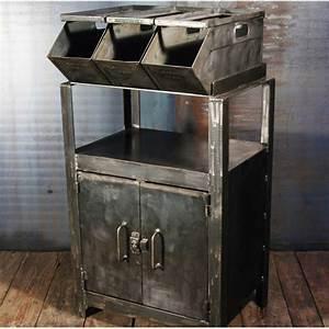 Rangement Métallique Industriel : meubles rangement industriel ~ Teatrodelosmanantiales.com Idées de Décoration