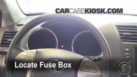 Fuse Interior Replace Getting Started Wiring