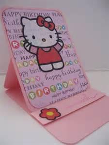 Hello Kitty Happy Birthday Card