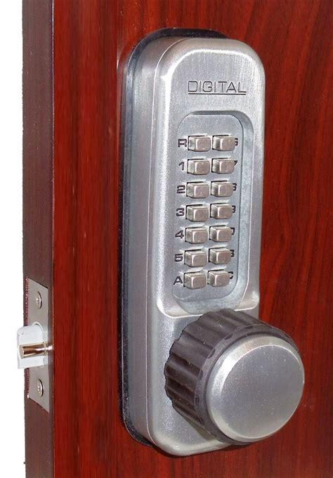 keyless door lock lockey 1600dc keyless mechanical digital sided