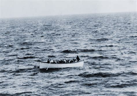 Titanic Lifeboat For Sale by One Of The Titanic Lifeboats As Seen Photograph By Everett