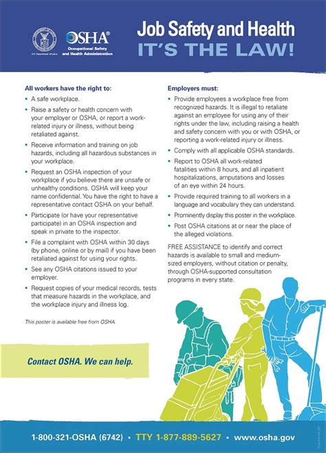 osha unveils    law poster remodeling