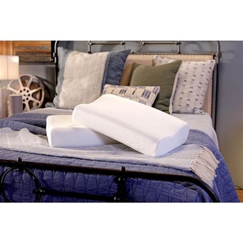 Small Bed Pillows by Tempur Pedic Small Standard Neck Pillow 15300414 The