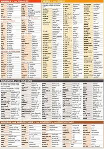 Spanish grammar chart-Animals, verbs, adjectives, adverb ...