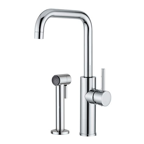 italian kitchen faucets maestro bath mitu side italian modern single handle pull out kitchen faucet atg stores