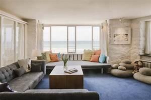 decoration zen meubles accessoires et couleurs privilegier With meuble salon contemporain design 9 miroir de decoration en bois massif soleil rond bois