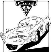 dibujo de cars   colorear dibujos  colorear