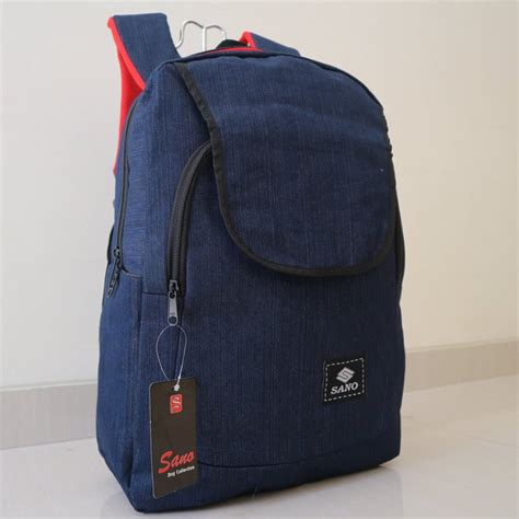 jual jual tas ransel backpack distro bahan kain