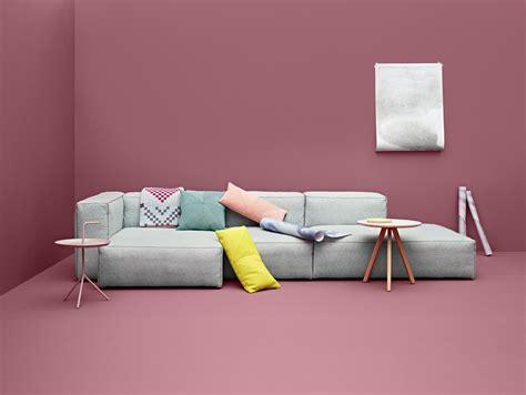 hay canapé canapé d 39 angle mags l 302 cm accoudoir gauche