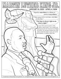 coloring books dr martin luther king jr day   coloring page