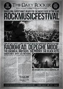 Grunge, Newspaper, Flyer, Poster, Vol, 1