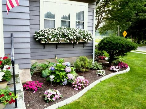 Yard Garden Ideas Front Of Gardening Design Landscaping