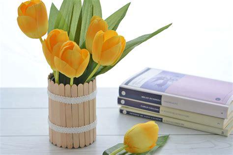 fiori vaso vaso da fiori fai da te una ventata di primavera in casa