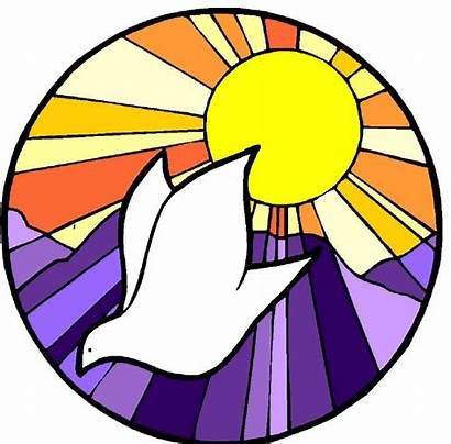 Baptism Symbols Clipart Symbol Dove Jesus Church