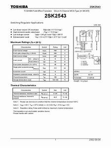 K2543 Datasheet Pdf