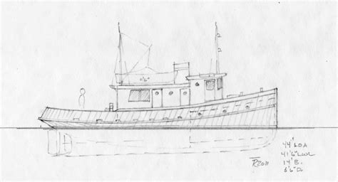 tugboat drawing wooden     ayoqqorg