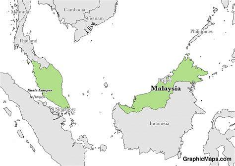 malaysias languages graphicmapscom