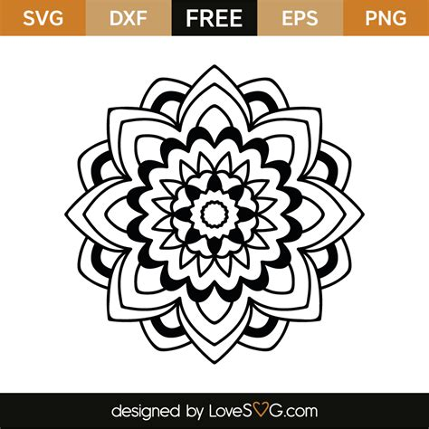 There are 520 free mandala svg for sale on etsy, and they cost $2.78 on. Mandala | Lovesvg.com