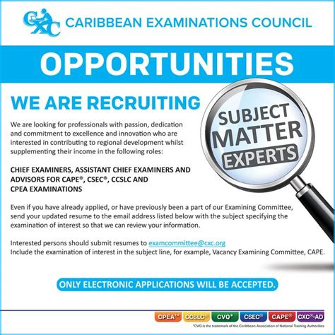 examples  advertisement job vacancy