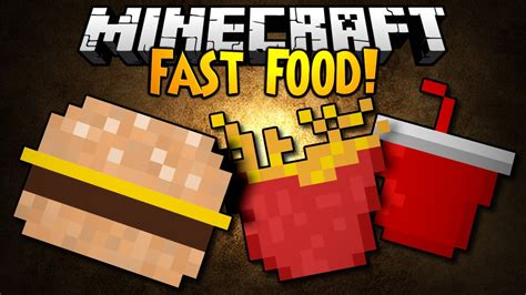 mod鑞es cuisines minecraft mod showcase fast food