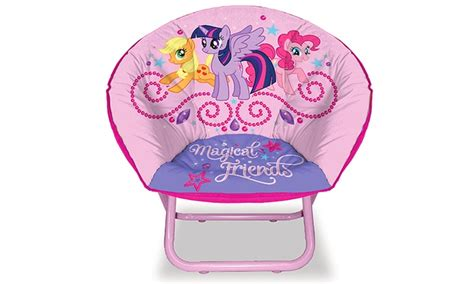 my pony saucer chair groupon