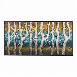 queen lake white birch at dawn metal wall decor With kitchen colors with white cabinets with metal tree wall art kohls
