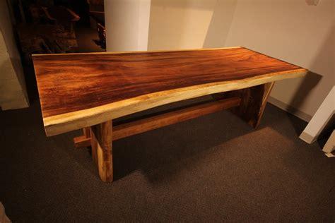 Wood slab coffee table, live edge coffee table, rustic wood slab coffee table, modern hairpin legs end table, mid century coffee table. Blue Moon Furniture- Blog-In Love with Live Edge Furniture