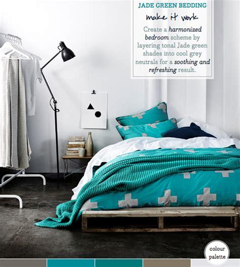 Palette Addict Stylish Jade Green Bedroom Idea Bright