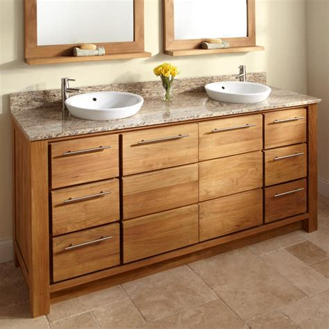 bathroom sink cabinet ideas wood bathroom cabinet and granite vanity tops with vessel sinks decofurnish