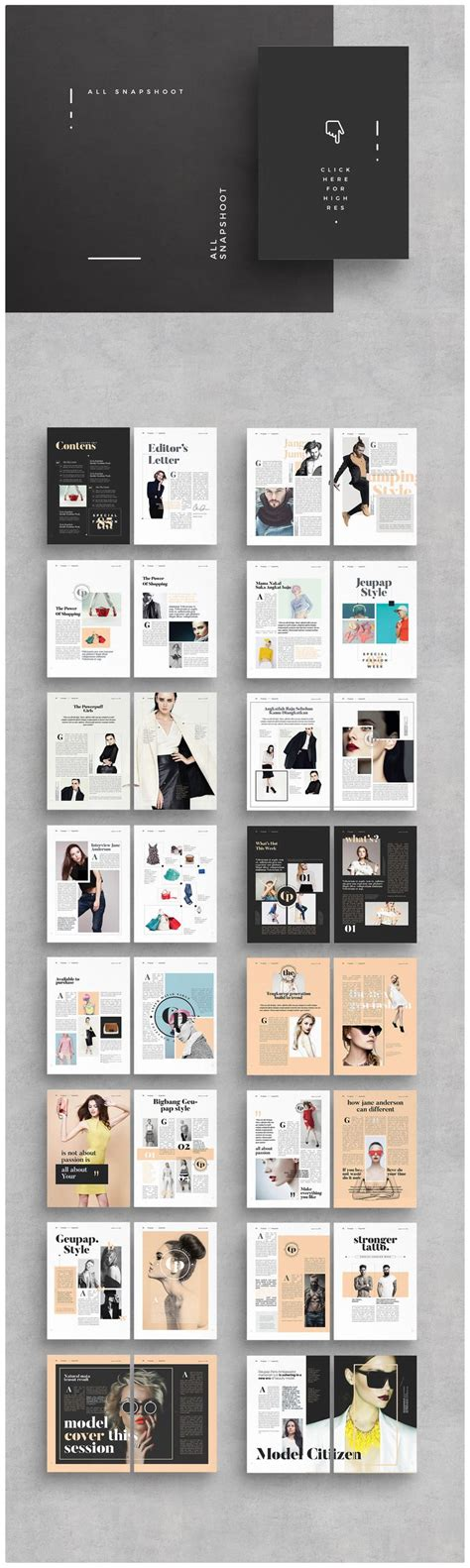 Best Templates For Magazine by Best 25 Magazine Layout Design Ideas On Pinterest