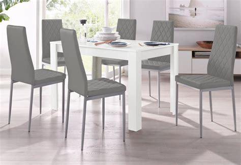 Essgruppe Runder Tisch by Essgruppe Mit Tisch In Wei 223 Breite 120 Cm 5 Tlg