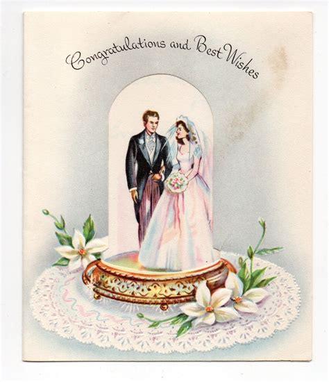 vintage sunshine wedding greeting card bride groom ebay
