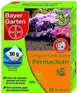 Permaclean Langzeit Unkrautfrei : bayer langzeit unkrautfrei permaclean 500gr ~ Eleganceandgraceweddings.com Haus und Dekorationen