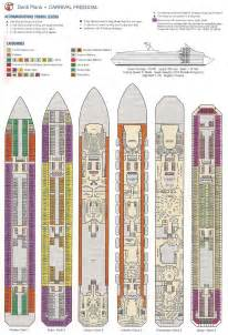 inspiration carnival cruise ships deck plans book covers