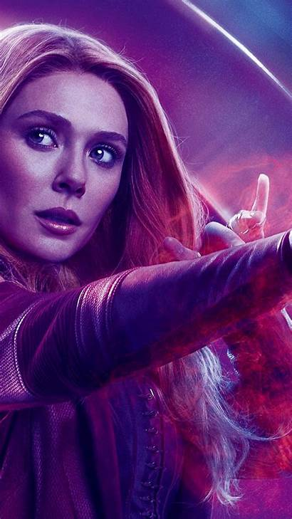Witch Scarlet Endgame Avengers Iphone Wallpapers Poster