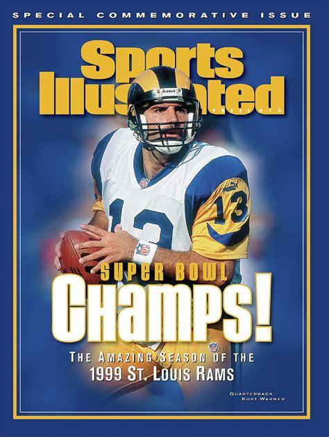 St Louis Rams Qb Kurt Warner Super Bowl Xxxiv Champions
