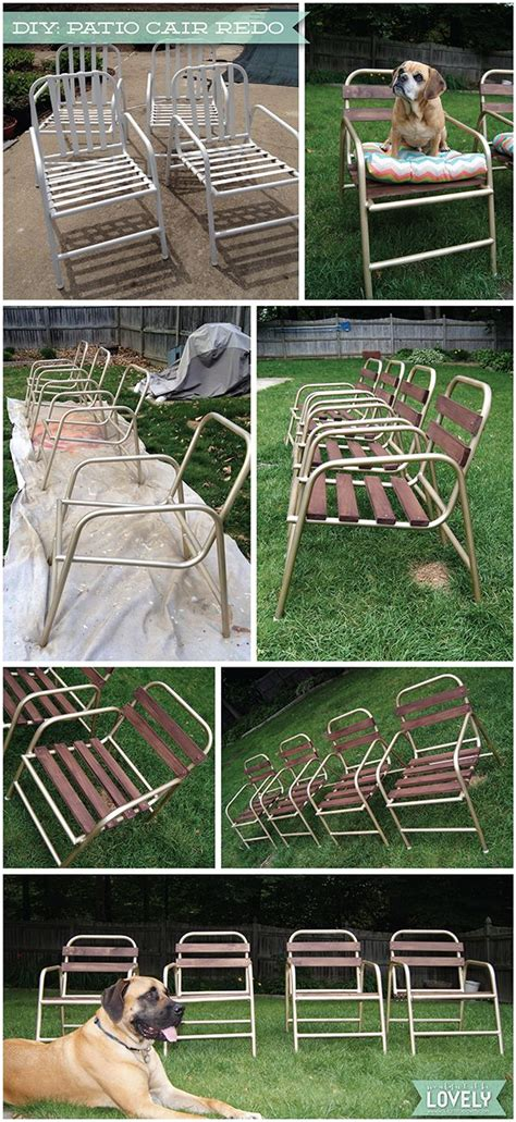 diy patio chair   patio furniture makeover