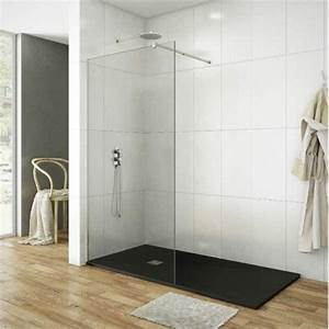 Paroi De Douche Sur Mesure : paroi de douche verre fixe sur mesure et pas cher mod le ~ Nature-et-papiers.com Idées de Décoration