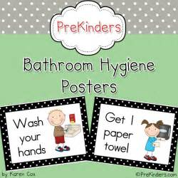 bathroom hygiene posters preschoolspot education