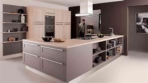 cuisine cuisinella cuisine en image With good meuble ilot central cuisine 3 idee couleur cuisine la cuisine rouge et grise