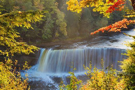 tahquamenon falls paradise michigan  color fine art