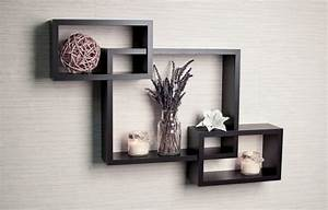 Decorative modern wall shelves recycled things for Decorative shelving