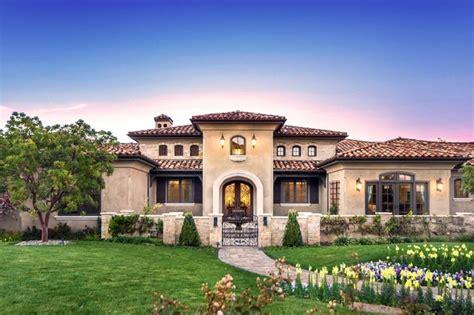 tuscan style homes mediterranean tuscan home house exterior mediterranean