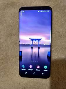 Samsung Galaxy S8 Plus  Negro  64 Gb  Detalle En Pantalla