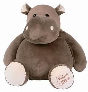 Peluche Elephant Geant : histoire d ours peluche hippopotame 60 cm ~ Teatrodelosmanantiales.com Idées de Décoration