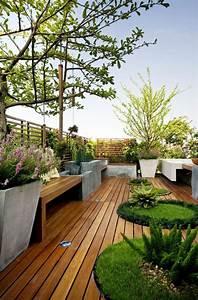 Aménager Une Terrasse : 60 photos comment bien am nager sa terrasse ~ Melissatoandfro.com Idées de Décoration