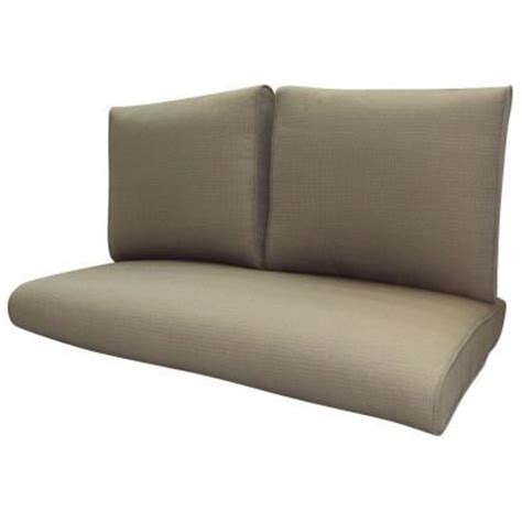 Patio Loveseat Glider Cushions by Plantation Patterns Melbourne Replacement Outdoor Loveseat