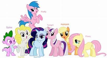 Ponies G1 Pony Mlp G4 Mane Spike